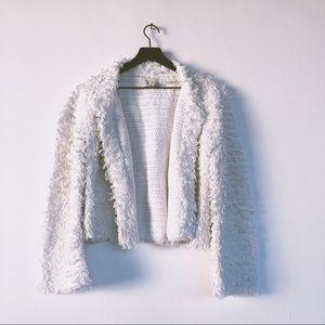 Cleobella Jada Jacket White Cotton Looped L
